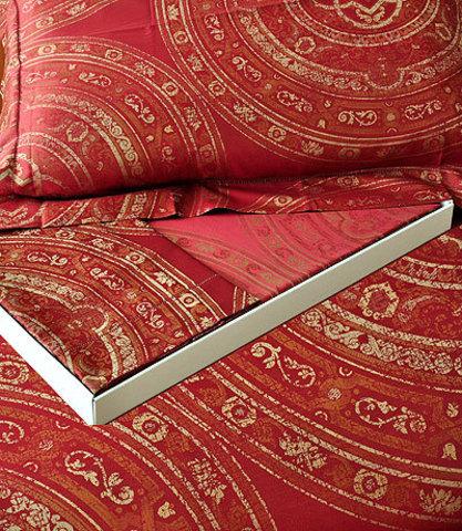 Постельное белье 2 спальное Brignoli Romeo бордовое