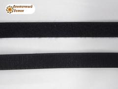 Лента-липучка черная 20 мм