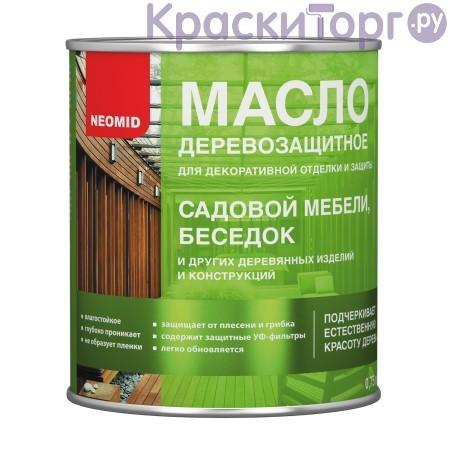 Масло для мебели и интерьеров Neomid / Неомид