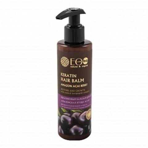 EO Laboratorie Бальзам для волос Кератиновый для Восстановления и роста 200 мл