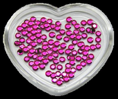 ЭК Стразы акриловые 200шт/72   SS7-розовый,круглый