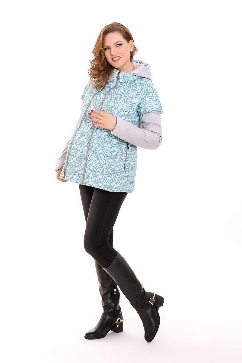 Куртка для беременных 04845 ментол