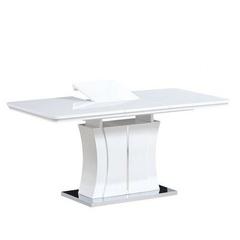 Стол обеденный AVANTI RAINBOW NEW (140) WHITE (белый)