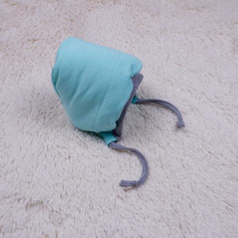 Утепленная шапочка Mini, р.56-74 см (бирюза)