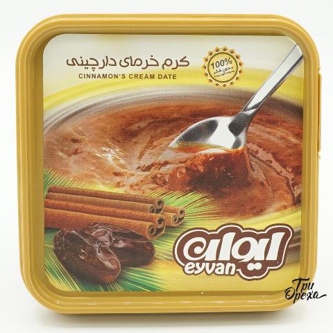 Шоколадная паста из фиников с корицей Saghe Zarin Arvand Co, 250 гр
