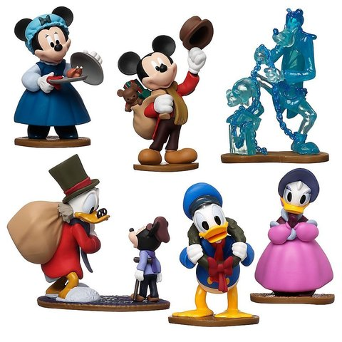 Набор из 6 Фигурок Клуб Микки Мауса - Figure Play Set