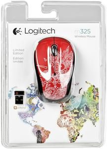 LOGITECH M325 Red Topography