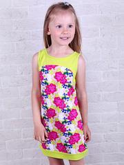 287К-1 платье детское, салатовое