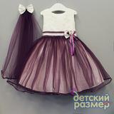 Платье с вуалью