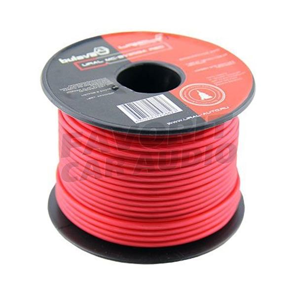 *Монтажный кабель URAL MC-BV20GA RED (30) - купить с Бесплатной доставкой по выгодной цене   Магазин автозвука Favorit Car Audio Саратов, Энгельс