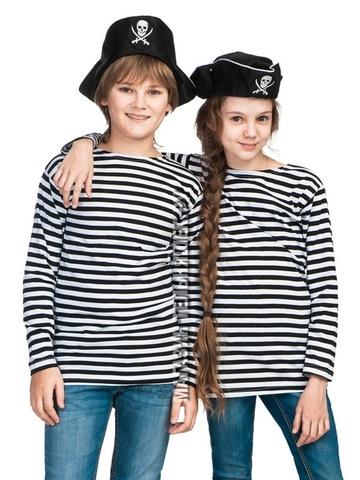 Детская тельняшка ВМФ (черная полоса)
