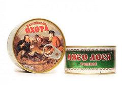 Тушеное мясо лося МКК Балтийский, 325г
