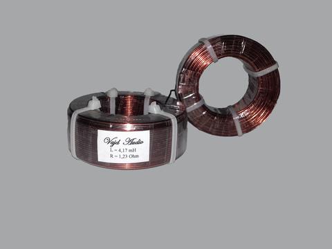 Катушка индуктивности Vajd Audio 4,17 mH*1,23 Ohm*1mm
