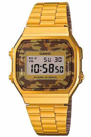 Купить Наручные часы Casio A-168WEGC-5E по доступной цене