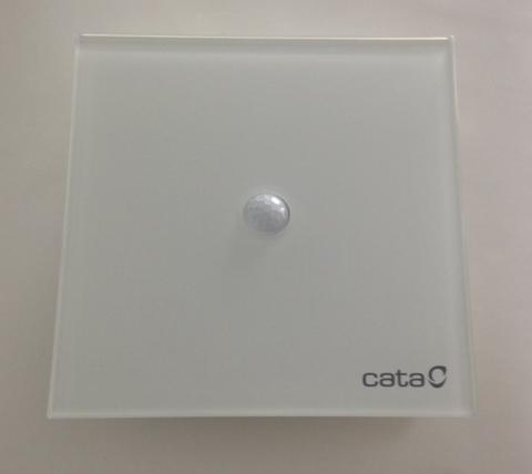 Накладной вентилятор Cata E 100 Sensor (PIR) с датчиком движения + обратный клапан