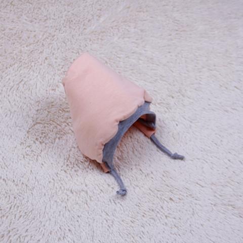 Утепленная шапочка Mini, р.56-74 см (персик)