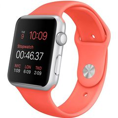 Часы смарт Apple Watch Sport 38мм (цвет коралловый)