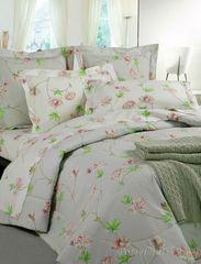 Постельное белье 2 спальное евро макси Mirabello Azaleа розовое