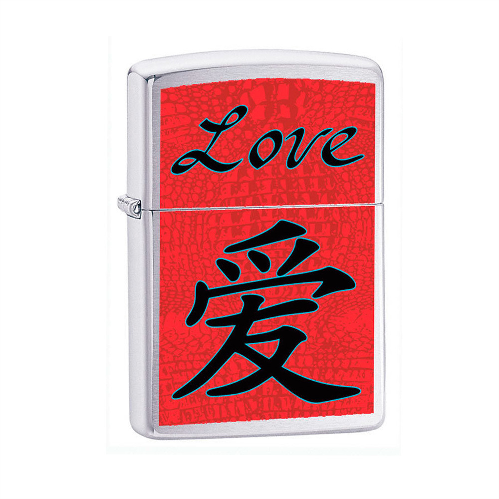 Зажигалка Zippo Chinese Symbol Love Emblem №24263