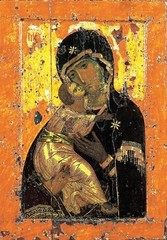 Икона Владимирская №4