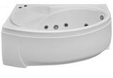 Ванна акриловая угловая BAS Фэнтази 150*88 леваяс гидромассажем
