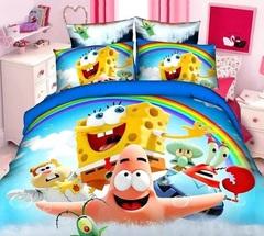 Губка Боб постельное белье детское в ассортименте