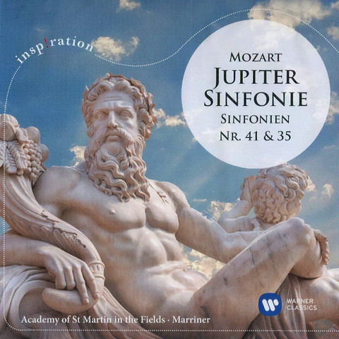 Academy Of St Martin In The Fields, Sir Neville Marriner / Mozart: Jupiter-Sinfonie, Sinfonien Nr. 41 & 35 (CD)
