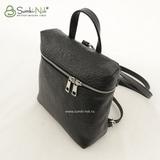 Рюкзак Саломея 527 фольга черная