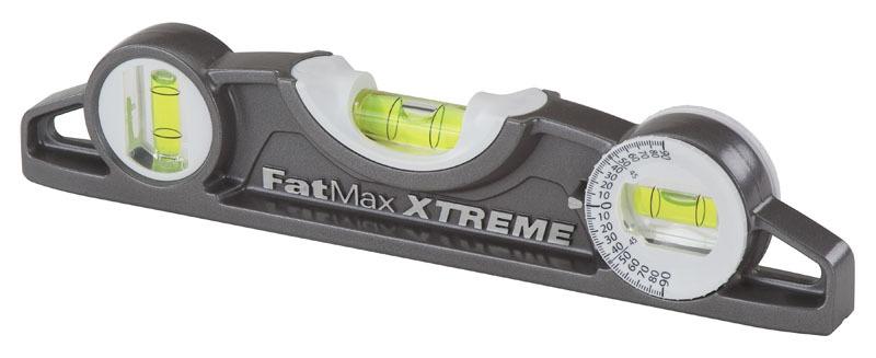 Уровень строительный FatMax® XL™ Torpedo 25 см магнитный Stanley 0-43-609