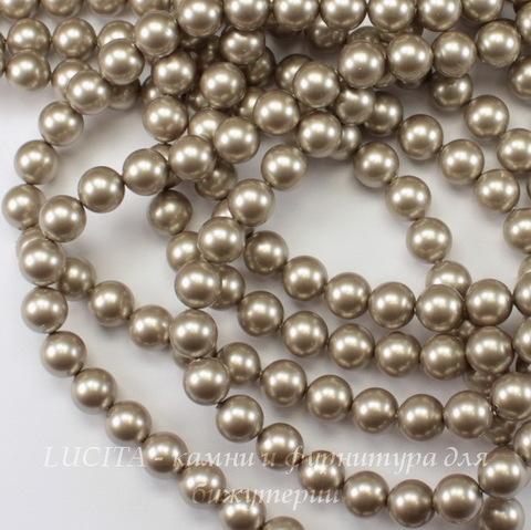 5810 Хрустальный жемчуг Сваровски Crystal Platinum круглый 8 мм , 5 шт
