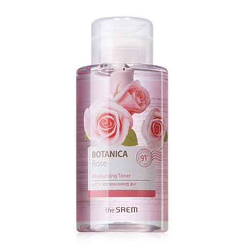 THE SAEM Botanica Тоник для лица Botanica Rose Moisturizing Toner_400ml 400мл