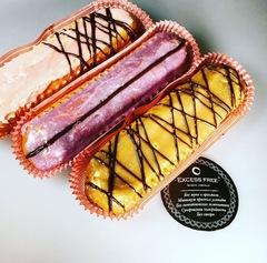 """Эклер с протеиновым кремом """"Шоколад"""""""