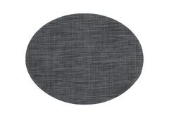 Салфетка под столовые приборы черная Ovaali (маты), 35х45см