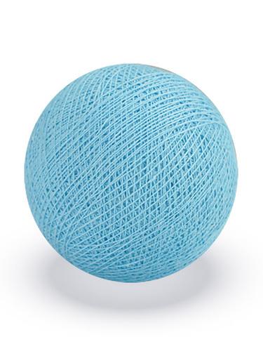 Хлопковый шарик нежно-голубой