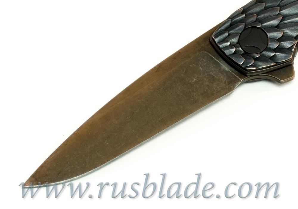 CKF CUSTOM Rook Gratch Knife