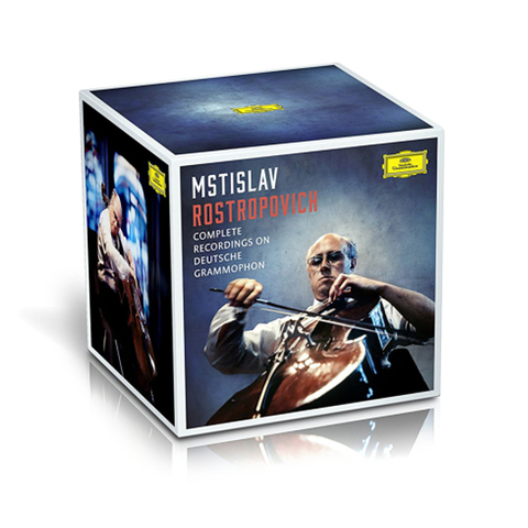 Mstislav Rostropovich / Complete Recordings On Deutsche Grammophon (37CD)