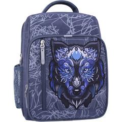 Рюкзак школьный Bagland Школьник 8 л. 321 серый 506 (0012870)