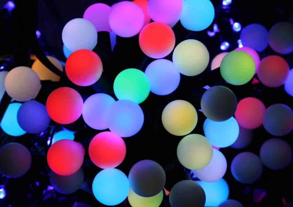 Каталог Гирлянда светодиодная разноцветная Led Twinkle Ligt 10 метров гирлянда_шарики.jpeg