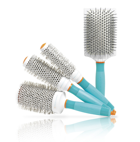 Moroccanoil Ceramic+ion hair brush - Брашинг / плоская термозащитная щетка