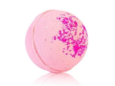 Гейзер макси-шар Розовый Грейпфрут для ванн с морской солью и маслами, d 9см,280±15гр.TMChocoLatte