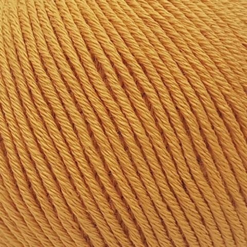 Пряжа Gazzal Organic Baby Cotton 418 оранжевый