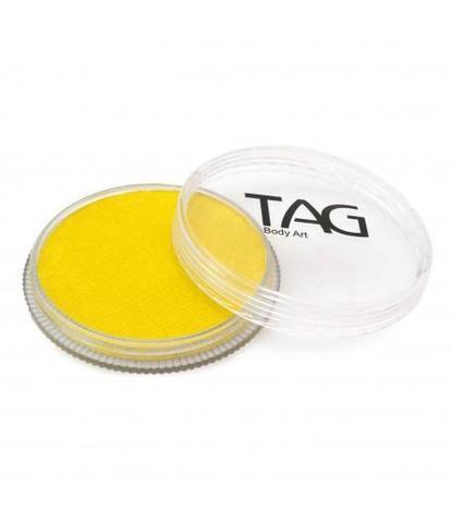 Аквагрим TAG 32гр перламутровый желтый