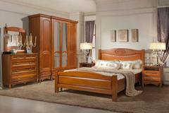 Спальни из массива дерева Оскар