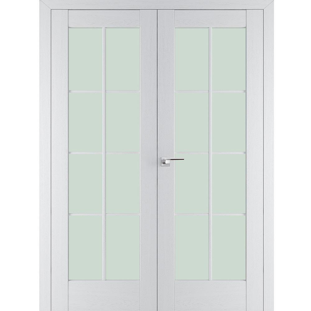 Двустворчатые двери 101Х пекан белый распашная двустворчатая со стеклом 101x-pekan-beliy-por-dvertsov.jpg