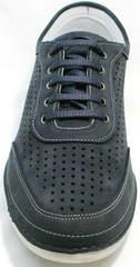 Городские кроссовки на каждый день мужские Vitto Men Shoes 3560 Navy Blue.