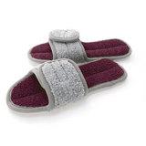 Тапочки для дома Catchmop бордовый+серый, артикул 2911-3037-3, производитель - Catchmop