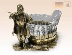 статуэтка Икорница Купец