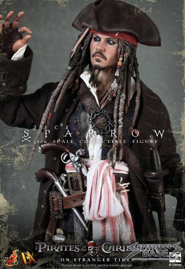 Pirates of the Caribbean — Captain Jack Sparrow EX