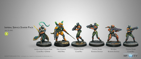 Imperial Service (Yu Jing Sectorial Starter Pack) (OLD)