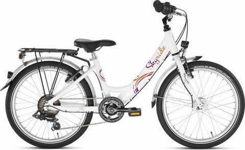 Двухколесный велосипед Puky Skyride 20-6 Alu 4449 white белый, 6+